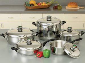 waterless cooking cookware